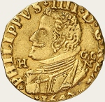 Ecu d'or - 1647 Naples - Philippe IV - Italie